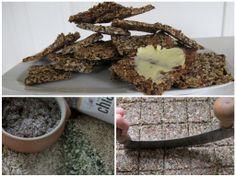 Opskrift på Chia Knækbrød - Opskriften på Chiabrød er på pakken med chia frø