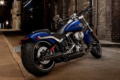 2013 Harley-Davidson Breakout, this is the bike tony has! Fun rides and good times!