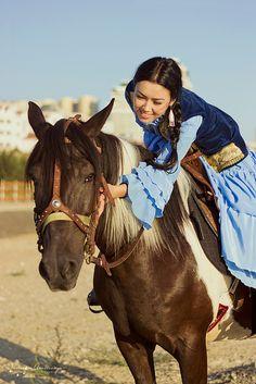 Favorite horse . Kazakhstan