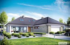 Projekty domów ARCHIPELAG - Magnus II G2