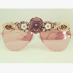 96b76a7b8de94 Eye glasses  decoratedsunglasses  blingsunglasses  ladiesaccessories   blingaccessories  eyewear  uniqueeyewear  fashionsunglasses