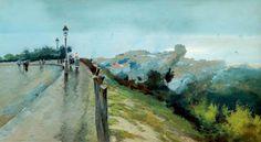 Naples by by Attilio Pratella (Italian 1856–1949)
