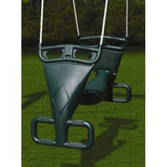 Gorilla Playsets Glider Swing in Green