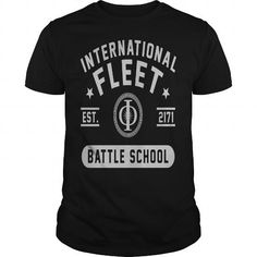 International fleet Ender's Game battle school funny T shirt by saiyanplanetshop----DJQIFGI #name #tshirts #ENDER #gift #ideas #Popular #Everything #Videos #Shop #Animals #pets #Architecture #Art #Cars #motorcycles #Celebrities #DIY #crafts #Design #Education #Entertainment #Food #drink #Gardening #Geek #Hair #beauty #Health #fitness #History #Holidays #events #Home decor #Humor #Illustrations #posters #Kids #parenting #Men #Outdoors #Photography #Products #Quotes #Science #nature…