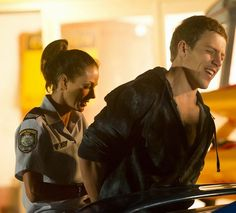 Brax arrested by Charlie The Braxtons, Female Police Officers, Home And Away, Cops, Tv Shows, Interview, Drama, Babys, Films