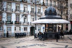 Quiosque do Refresco, Praça Luís de Camões, Lisboa - Portugal
