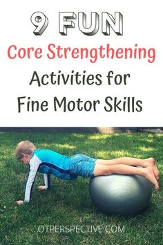 Child Development Activities, Physical Activities For Kids, Occupational Therapy Activities, Pediatric Occupational Therapy, Motor Skills Activities, Movement Activities, Fine Motor Skills, Learning Activities, Pediatric Ot