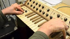 synthesizer wood - Google Search