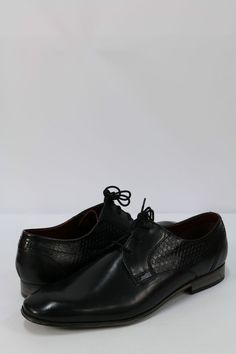 BUGATTI Men s Formal Shoes Black Leather Footwear
