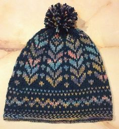 Ravelry: Stained Glass Hat pattern by Lisa McFetridge