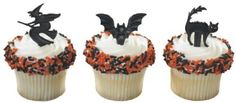 Halloween Cupcake Picks - 12ct by Decopac, http://www.amazon.com/dp/B005PQ1C74/ref=cm_sw_r_pi_dp_wQYisb0Y83CY1