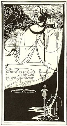 "Aubrey Beardsley: picture for ""Salomé"" by Oscar Wilde"
