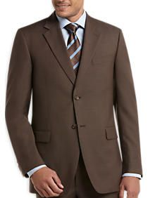 Jones New York Taupe Tic Portly Suit