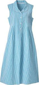 Sleeveless Seersucker Nightgown