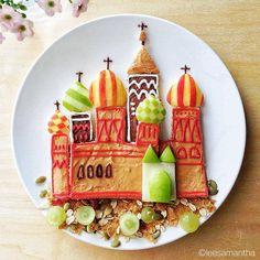 Yummy Cartoons On My Plate by Lee Samantha | FunPal Studio| Art Artist Artwork Entertainment Food art Cartoon Characters Creativity
