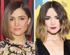 New Hair 2015: See Celebrity Hair Makeovers | InStyle.com Just before attending SXSW in March, Rose Byrne added ombre highlights to her trademark bob.