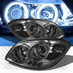 Chevrolet Cobalt, Projector Headlights, Old Cars, Chevy, Halo, Sweet Hearts, Pairs, Bike, Car Stuff