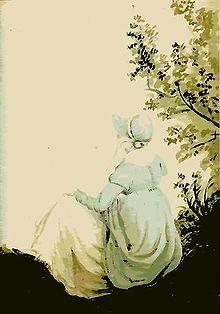 Painting of Jane Austen by her sister Cassandra (c. 1804).