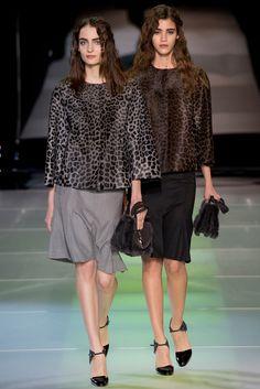 Giorgio Armani Fall 2014 Ready-to-Wear Fashion Show