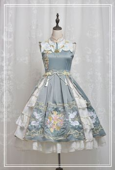 LolitaWardtobe - Bring You the latest Lolita dresses, coats, shoes, bags etc from Trustworthy Taobao indie Brands. We never resell Lolita items from untrustworthy Taobao stores. Kawaii Fashion, Lolita Fashion, Cute Fashion, Rock Fashion, Fashion Fashion, Pretty Outfits, Pretty Dresses, Beautiful Dresses, Cosplay Outfits
