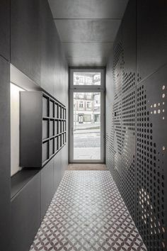 Hall d'immeuble Valchromat