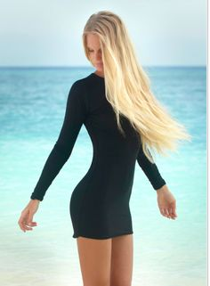 boutique flirt - Mikoh Swimwear Caribbean Long Sleeve Mini Dress Night, $176.00 (http://www.boutiqueflirt.com/mikoh-swimwear-caribbean-long-sleeve-mini-dress-night/)
