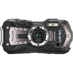 Fancy - Ricoh WG-30W Waterproof Digital Camera