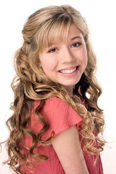 Jennette Mccurdy Curly Blonde Hairstyle