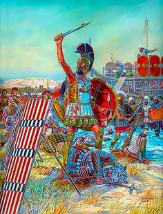 Battle of Marathon, 12 September, 490 BC
