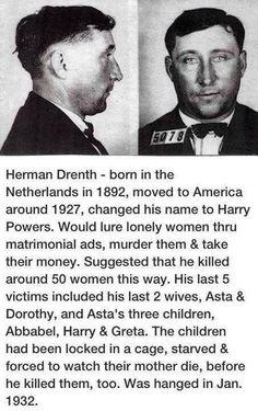 Herman Drenth serial killer story