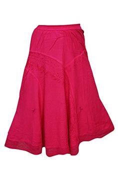 Womens Long Skirt Pink Embriodred Rayon Boho Medieval Max... https://www.amazon.ca/dp/B01NCYKOK4/ref=cm_sw_r_pi_dp_x_nMjIyb4QR5ZHZ