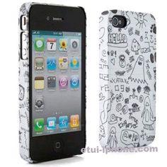 Décorez votre #iphone4 avec une coque fantome ! La coque Tagg NB pour iPhone 4/4s sur www.etui-iphone.com est en promo pour #halloween