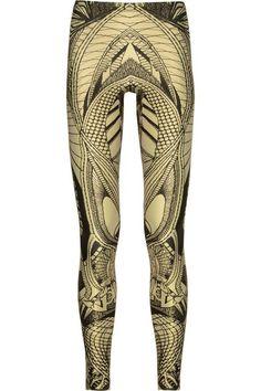 Alexander Mcqueen printed leggings
