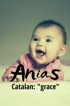 """Anias is a gorgeous form of the name Anna and is of Occitan and Catalan origin, meaning """"grace"""". It was ranked in 2018 and there were 318 girls given this name in the US that year so it is definitely a unique name. Modern Baby Girl Names, Modern Names, Unique Names, Baby Names, Writing Resources, Meant To Be, Anna, Lettering, Girls"""