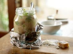 LOVE the paper wrapped and tied around this jar! via @Sylvie | Gourmande in the Kitchen