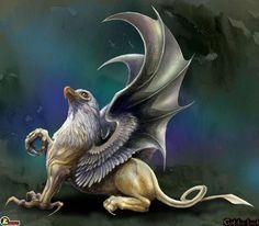 The gryphon: 50% lion, 50% eagle, 100% fierce. #gryphonpride