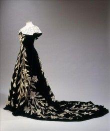 Ballgown by Worth, 1896
