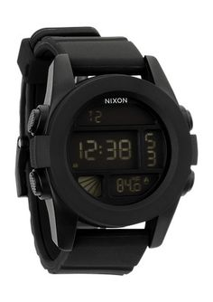 The Black The Unit Watch by Nixon is a very popular item which is sure meet your shopping requirements. Highly recommended Nixon watches make great gifts. Durable Watches, World Surf, Casio Watch, Digital Watch, Watches For Men, Nixon Watches, Black Watches, Wrist Watches, Surfing