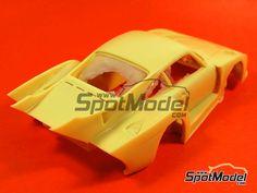 Image 25: Porsche 935 K3 - 24 Hours Le Mans 1979 | Model car kit in 1/24 scale manufactured by Renaissance Models (ref.REN24-11)