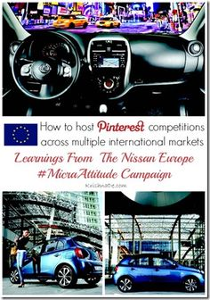 Nissan Europe case study: How to Host #Pinterest Competitions Across Multiple International Markets.