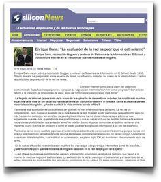 Entrevista en Silicon News en el Día de Internet
