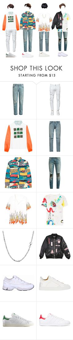 """L-O-1 _ Eye-Smile"" by xxeucliffexx ❤ liked on Polyvore featuring Gucci, Dsquared2, Delpozo, Yves Saint Laurent, Marc Jacobs, Hyein Seo, adidas, MM6 Maison Margiela, adidas Originals and Lord & Taylor"