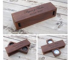 ABOUT This ring box is 100 solid WALNUT and 100 handmade from row materials the inside part of the ring box turns in order to accept the rings. When closed, it holds to place with 3 small magnets that were installed during making Finished with oil Rustic Ring Bearers, Ring Bearer Box, Proposal Ring Box, Wooden Ring Box, Ring Holder Wedding, Small Rings, Wood Rings, Wedding Boxes, Wooden Jewelry