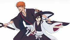 Bleach Fanart, Bleach Anime, Ichigo E Rukia, Bleach Couples, Narusaku, Inuyasha, Rwby, Art World, Fnaf