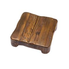 The Medium Square Trivet by Europe2You is a rustic wooden serving piece that can also be used to protect tables and counters from hot dishes. Use this trivet for adding a unique look to your most deli