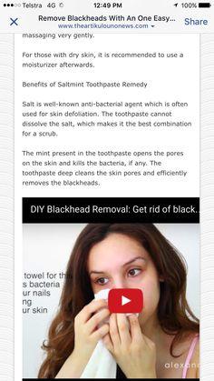 Blackhead instructions