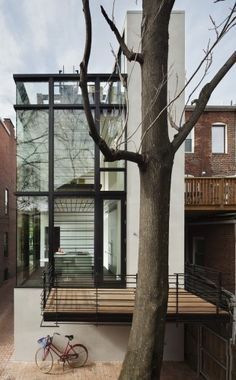 Barcode House / David Jameson Architect (11) © Paul Warchol Photograhy
