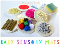 DIY sensory mats for babies and toddlers Develop their sensory skills