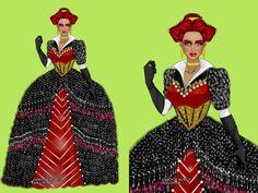 MEDIEVAL  Look inspirado na Rainha Vermelha