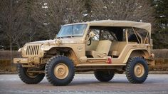 Nine military vehicles you can buy - Jeep Staff Car Concept (Credit: Credit: Fiat Group)